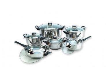 Mequedouno: Batería de Cocina de 12 Piezas Amazing Cookware a $389