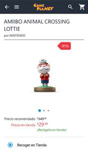 Game Planet: Figura Amiibo Animal Crossing Lottie