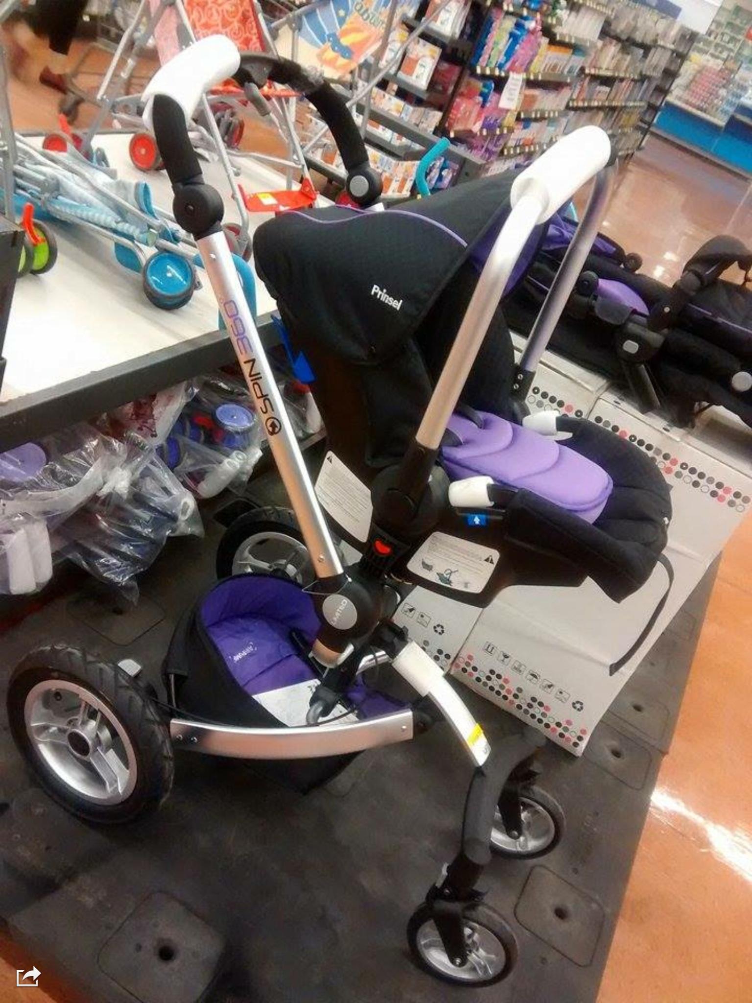 Walmart: Carriola Prinsel spin 360 a $2,998