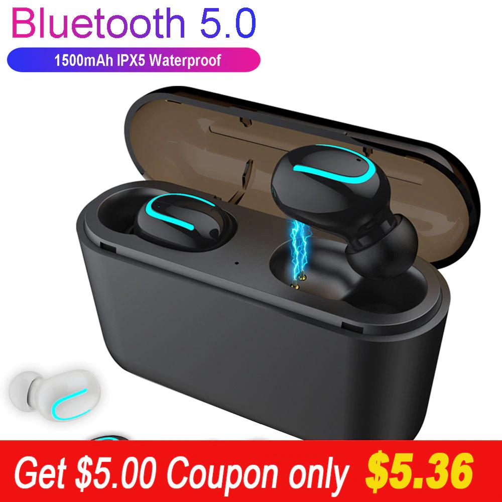 Aliexpress: Audífonos Bluetooth