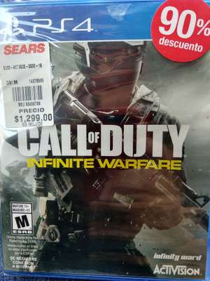 Sears: PS4 Call of Duty con 90% de descuento