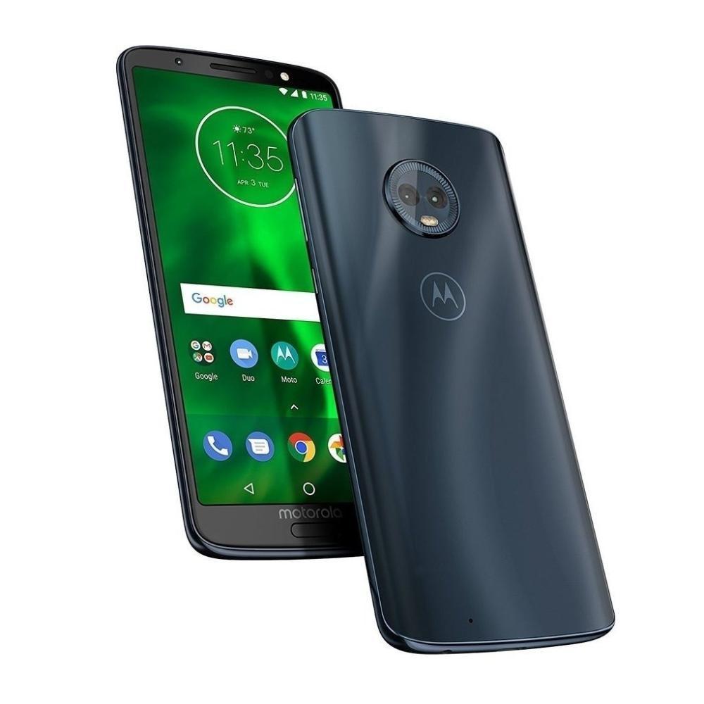 Walmart: Smartphone Motorola Moto G6 Plus 64 GB Azul Desbloqueado