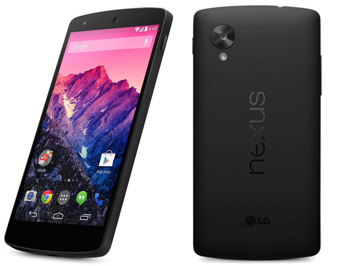 EBAY: LG Google Nexus 5 16GB reacondicionado $3100 envío incluido