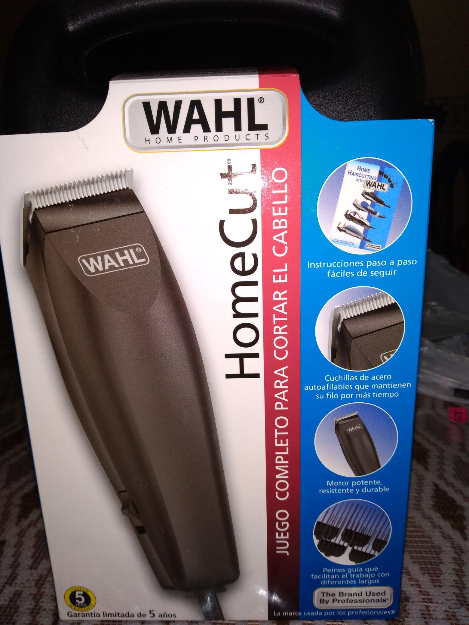 Walmart: Rasuradora de cabello Wahl