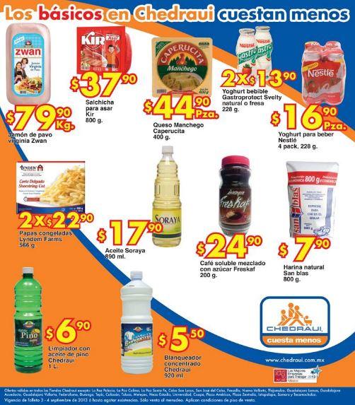 Frutas y verduras Chedraui septiembre 3 y 4: manzanas $16.90 el kilo y más