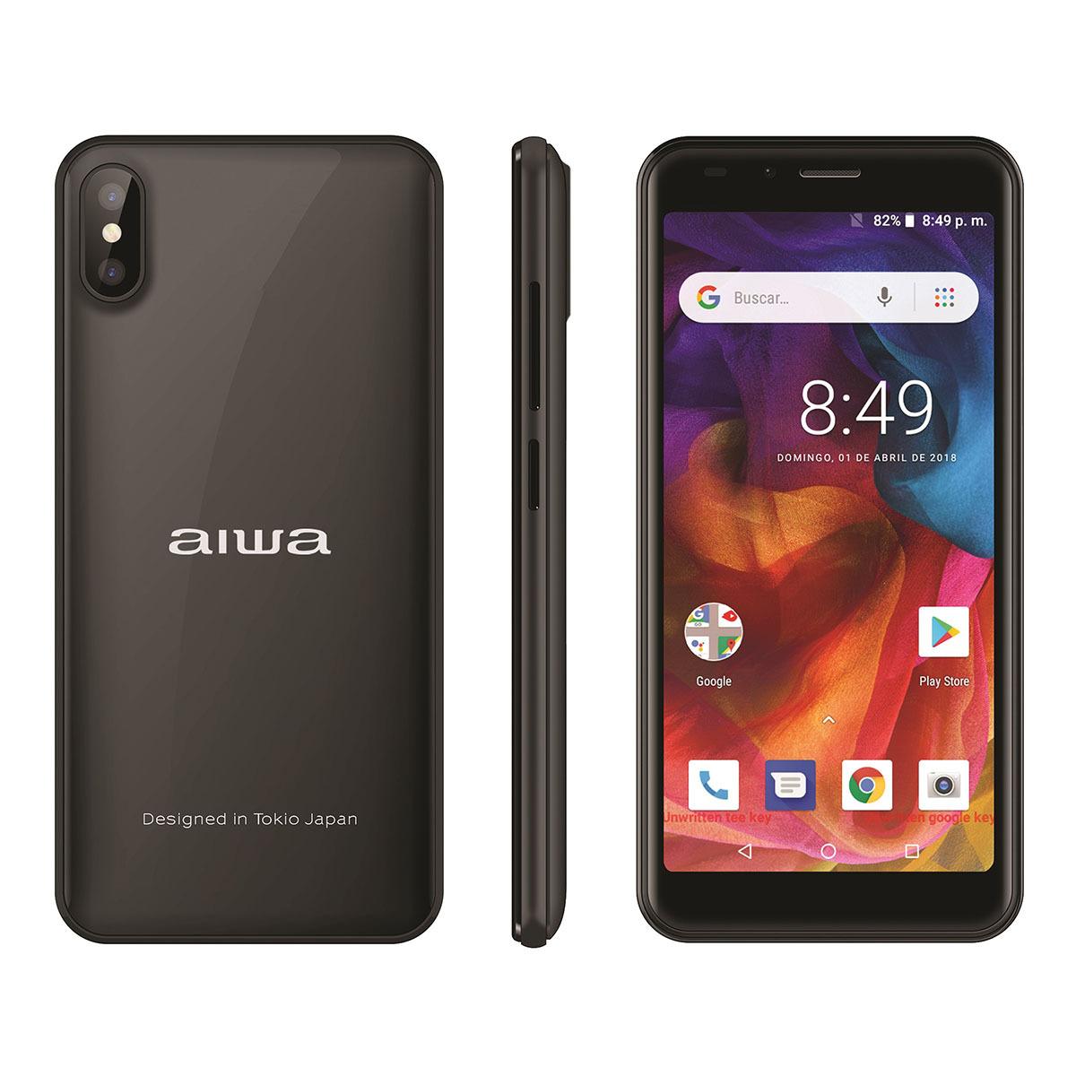 Chedraui: Smartphone AIWA AW501 16GB Gris