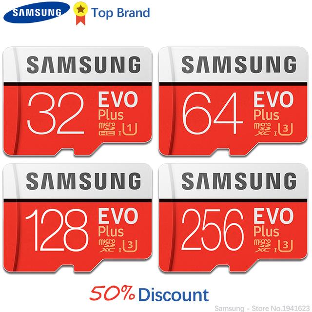 AliExpress:  Micro SD Samsung Clase 10 U3 de 256GB