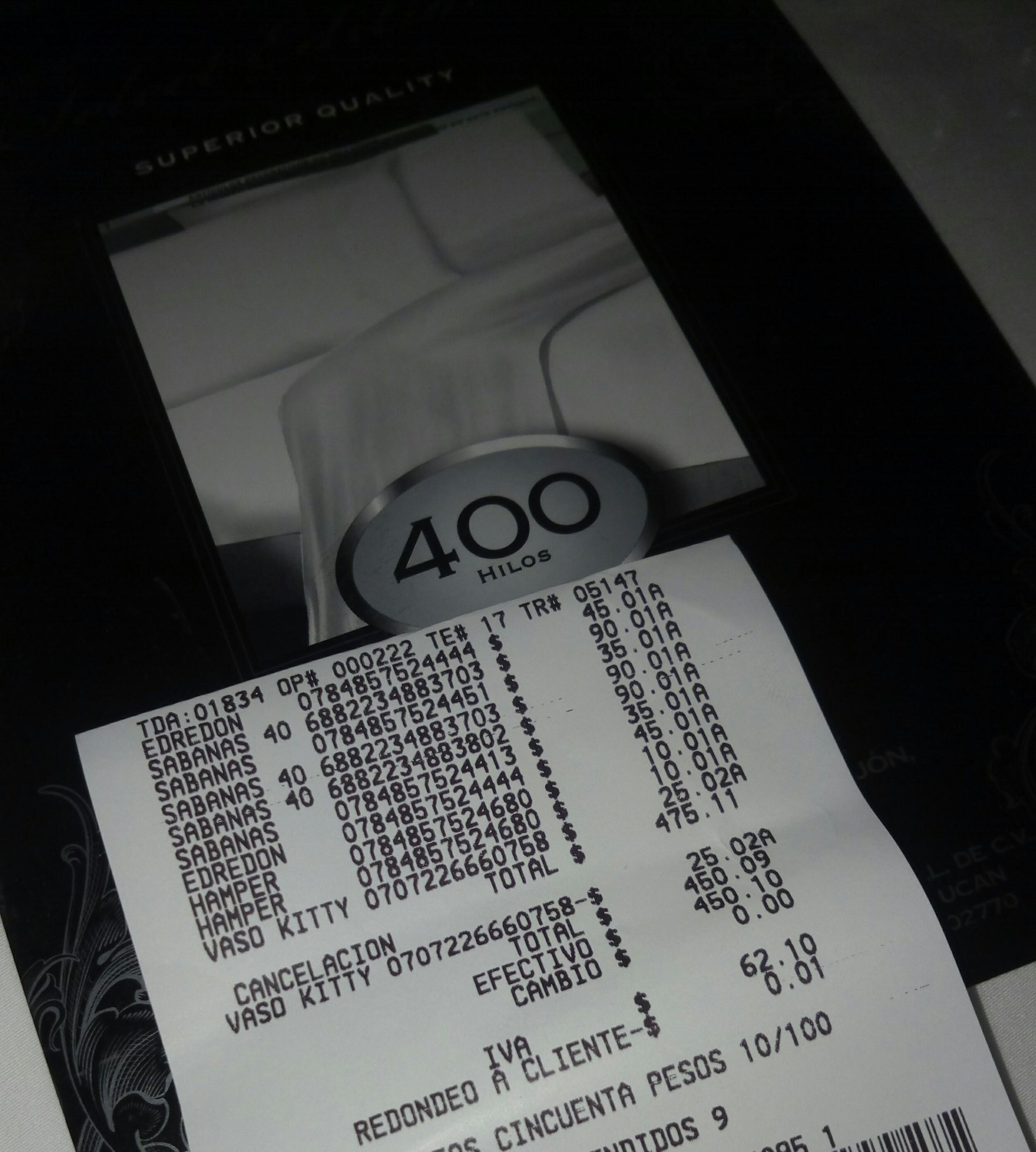 Walmart izcalli: sábanas de 400 hilos a $90.01
