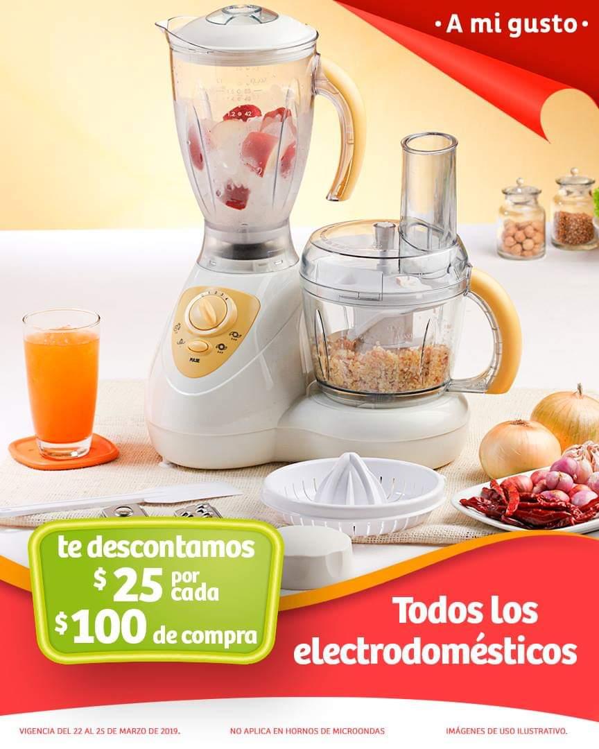 Soriana Híper y MEGA Soriana: $25 de descuento por cada $100 en electrodomésticos