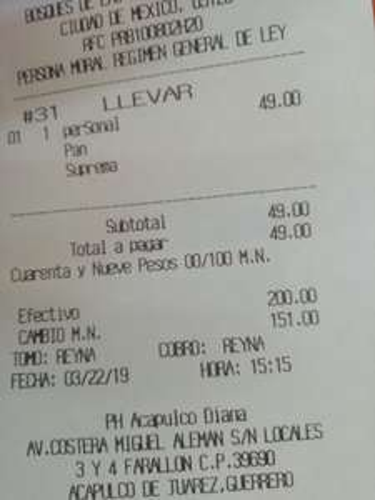 Pizza Hut: Pizza Personal a $49
