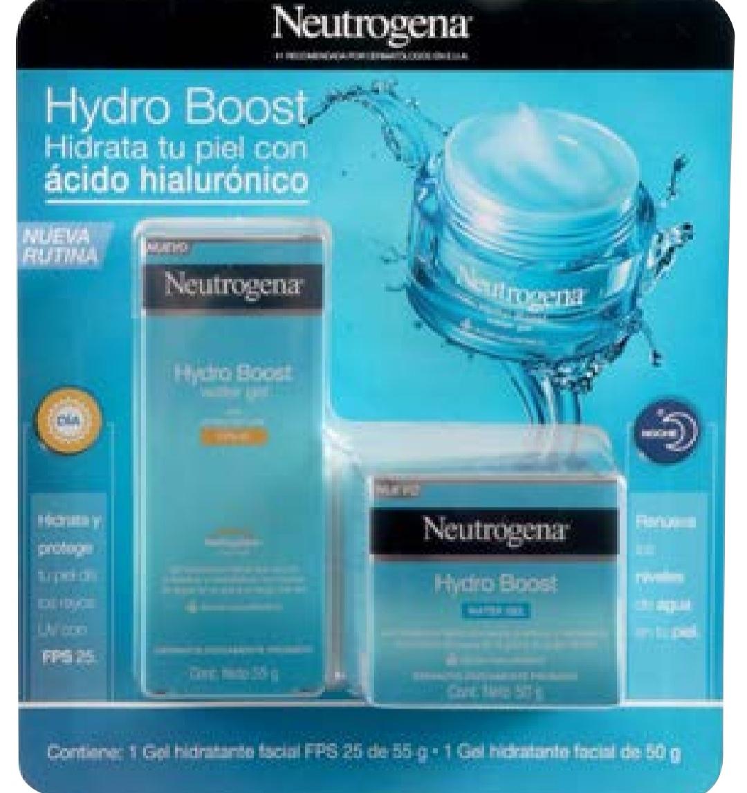 Sam's Club: Gel Neutrogena Hydro Boost + Gel Hydro Boost de 25 FPS