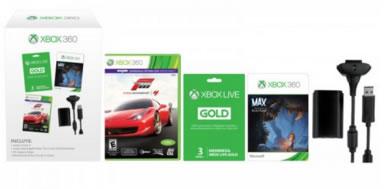 Chedraui: Xbox 360 Kit Carga y juega + Forza 4 + 3 Meses Gold + Juego Max descargable