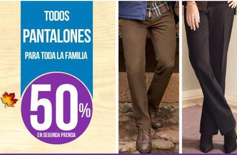 Suburbia: 50% de descuento en el segundo pantalón