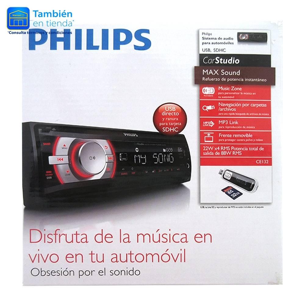 WALMART ONLINE: Autoestéreo Philips $699