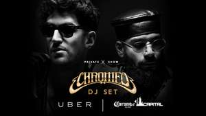 UBER te lleva al after con Chromeo y te regala boletos para el segundo dia del Corona Capital.