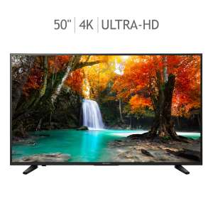 "Costco: Sharp smart TV 50"" 4K UHD 120MR"