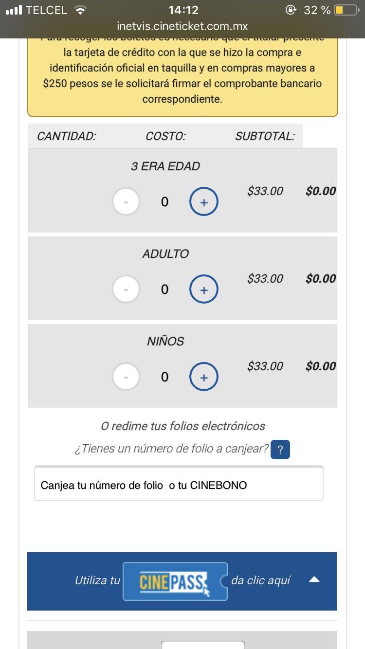 Cinépolis Tepeyac: Boletos desde 33 pesos