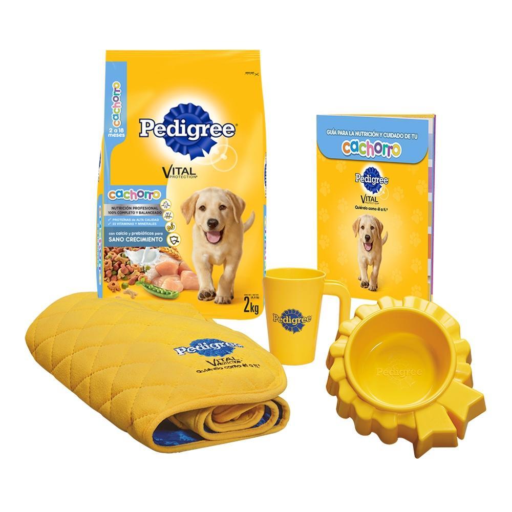 Walmart: Kit de Alimento para Perro Pedigree Cachorro 2 kg