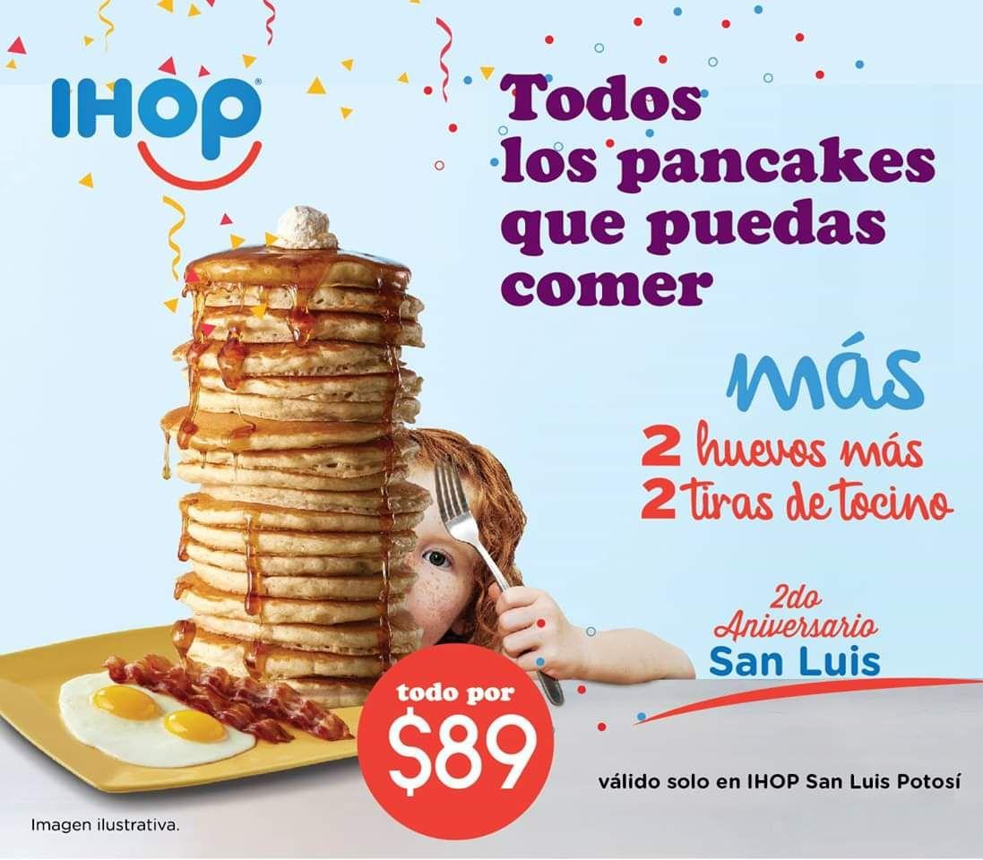 IHOP San Luis: Todos los pancakes que puedas comer