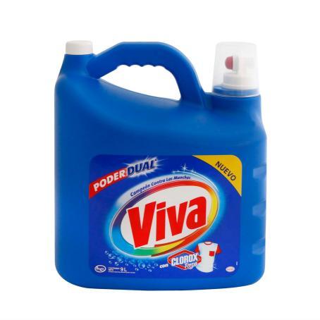 Sam's Club: Viva liquido 9 lts $150 en la compra de 2 pz ($299x2)