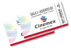 2x1 en Cinemex TODOS LOS DIAS en TODAS LAS SALAS al pagar con TODAS LAS TARJETAS MASTERCARD.