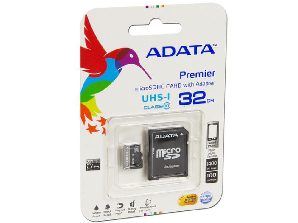 Walmart: Memoria Micro Sd 32Gb Adata