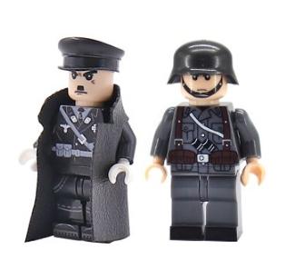Aliexpress: 2 Figuras tipo Lego por $33 (Hitler + Soldado).