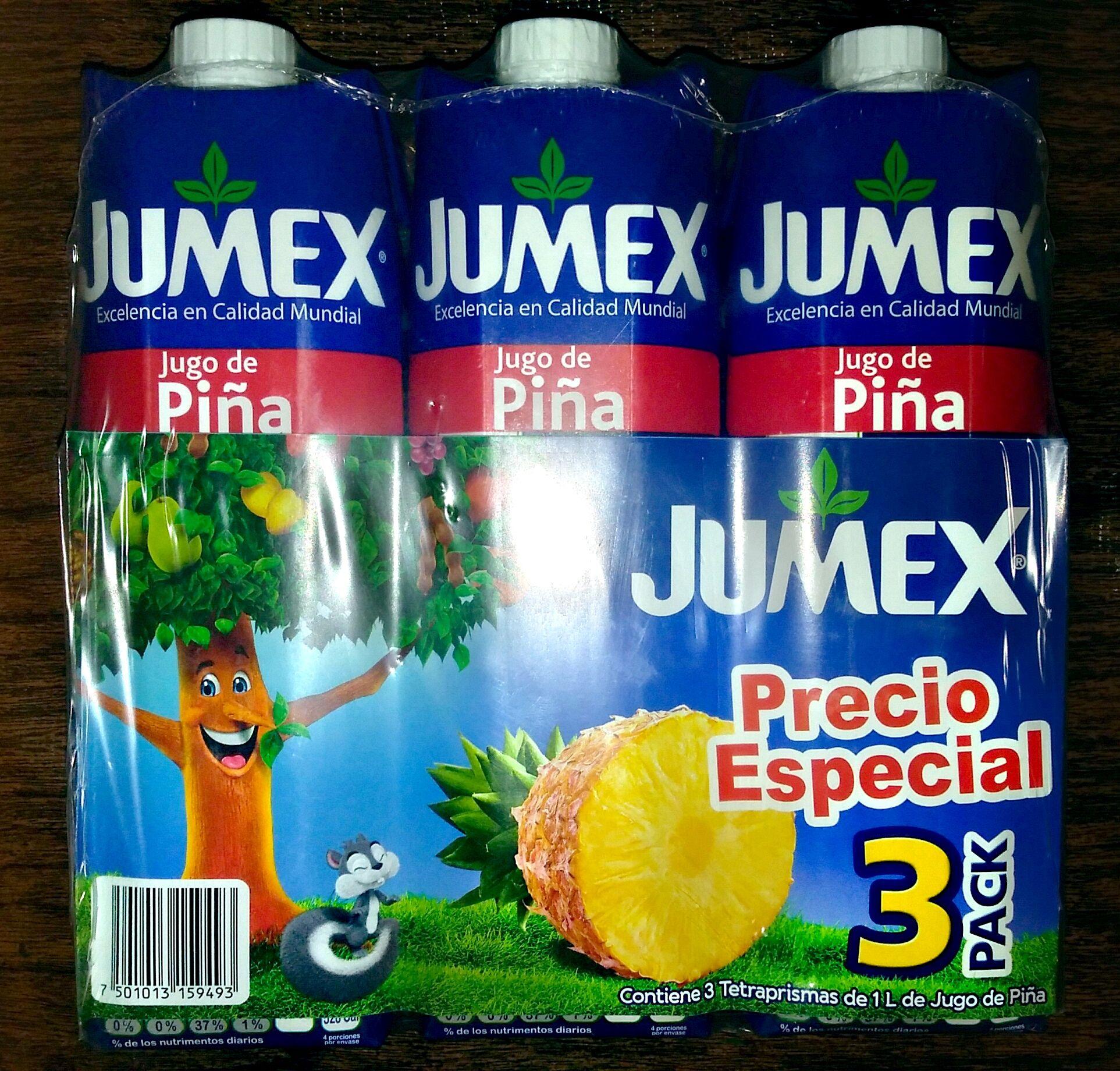 Bodega Aurrera: Jugos Jumex 3 pack