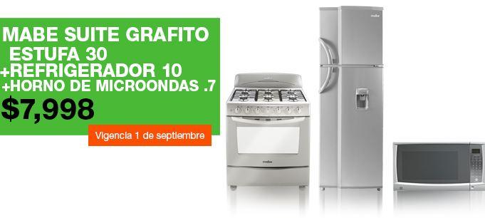 La Comer: refrigerador + estufa + microondas $7,999, descuento en Sony y más