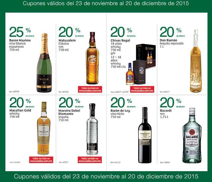 Folleto de ofertas en Costco del 23 de noviembre al 20 de diciembre