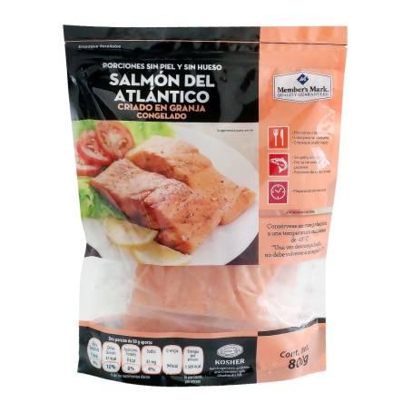 Sam's Club: Salmón Atlántico Member's Mark 800 g, $263.20