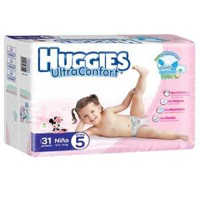 SUPERAMA: Pañales Huggies Ultraconfort Etapa 5 Y 6
