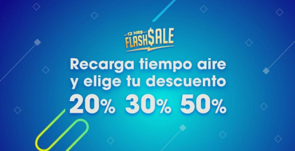 Weex Wallet: Flash Sale - Hasta 50% de Cashback en tus recargas