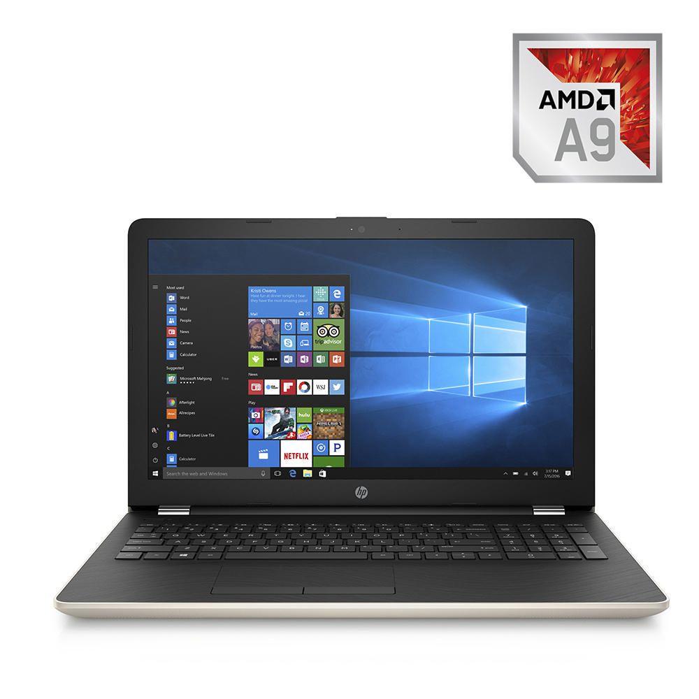 Elektra: Laptop HP 15-bw005la AMD A9 RAM 12GB DD 1TB