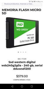 Ofi: SSD WD Green 240GB