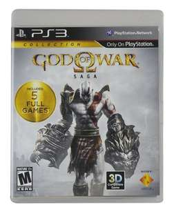 Amazon: God of War Saga Collection (5 juegos) - PS3
