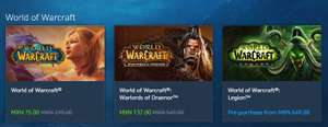 Blizzard Store: Oferta de Black Friday en World of Warcraft y la ultima expansion WoD, Asi como Expansiones de Starcraft y mas