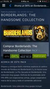 Steam: Borderlands 2 - The handsome Collection