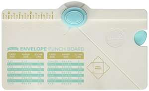 Amazon: We R Memory Keepers 660541 Mini Envelope Punch Board (Para hacer sobres pequeños)