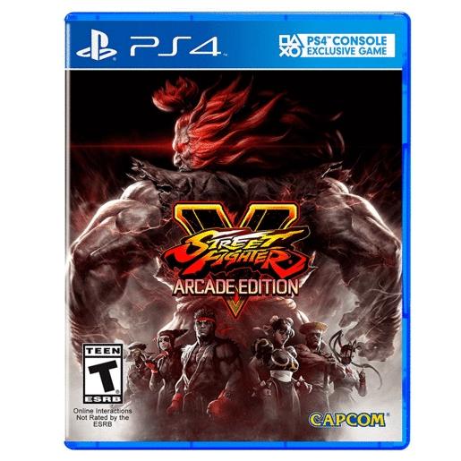 RadioShack: Street Fighter V Arcade Edition