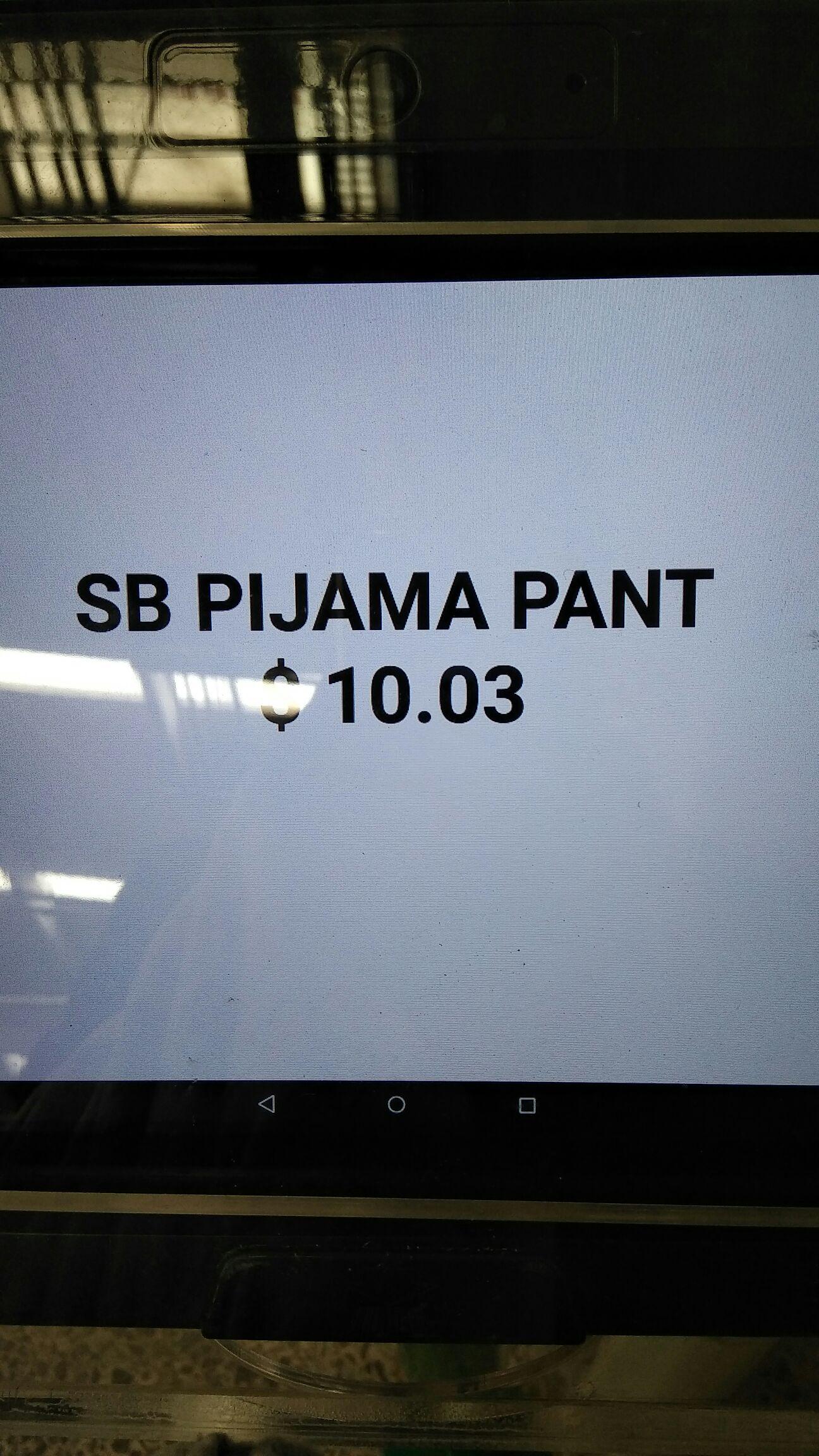 Bodega Aurrerá: Pantalon pijama