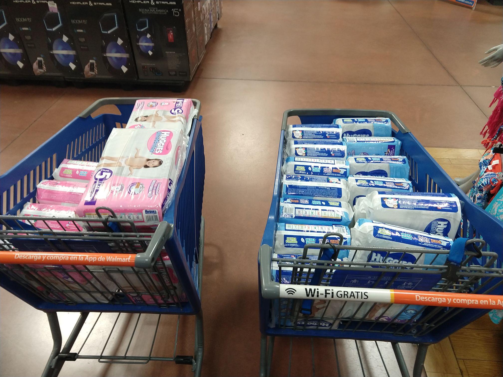 Walmart: Pañales en la primera liquidación