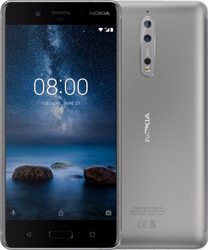 Movistar: Equipos Nokia en oferta (Nokia 8 $4999)