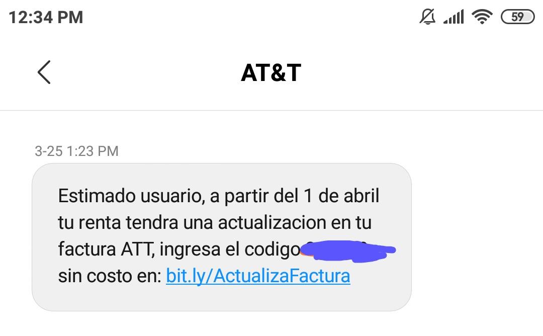 AT&T: Ahorrate el aumento en las tarifas al domiciliar tarjeta