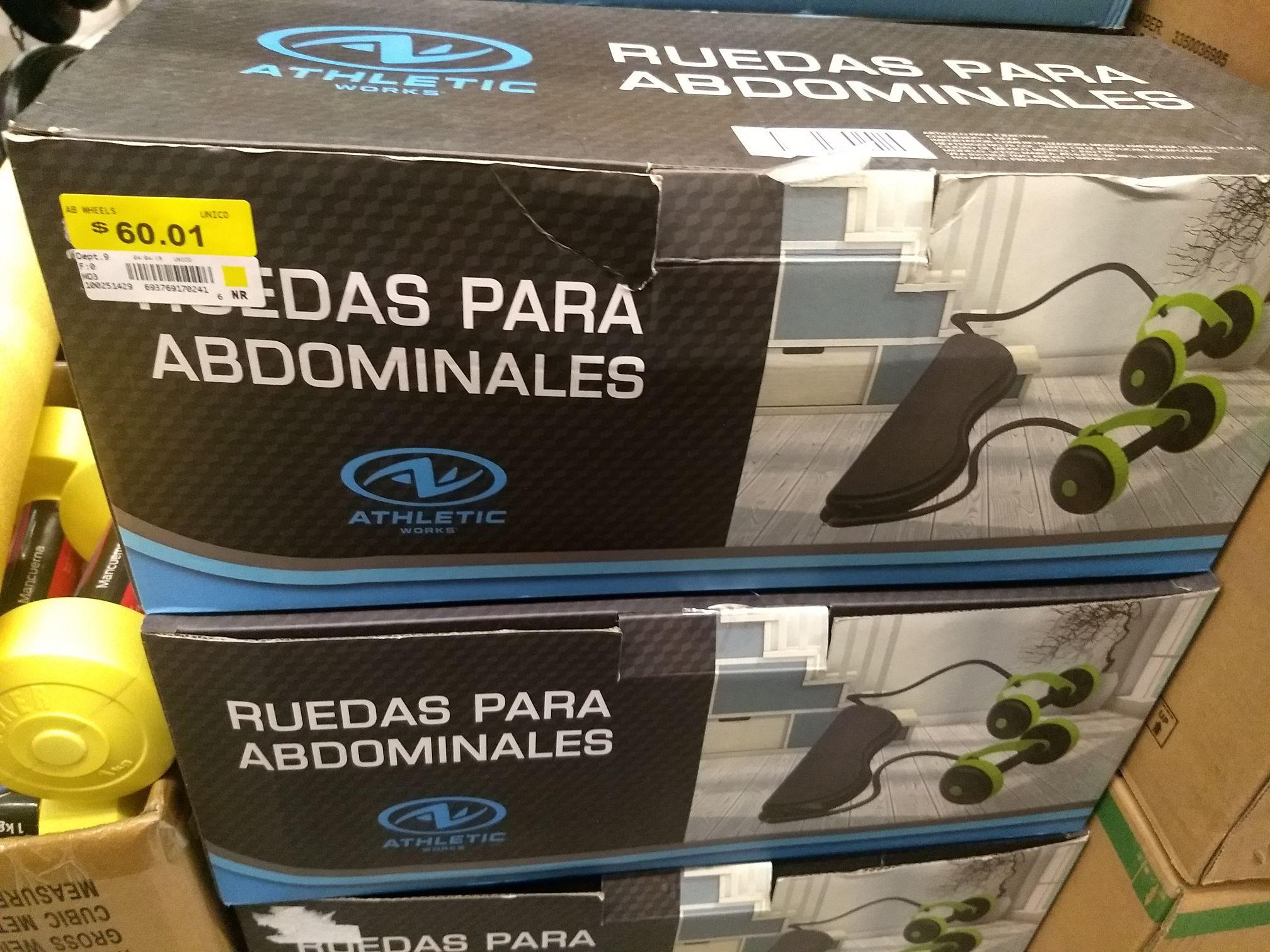 Bodega Aurrera: Ruedas para abdominales 60.01