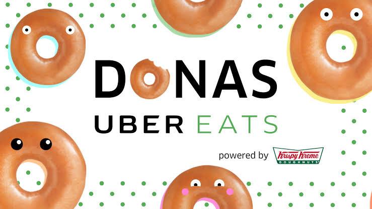 Uber Eats: Docena Select Krispy Kreme a $150