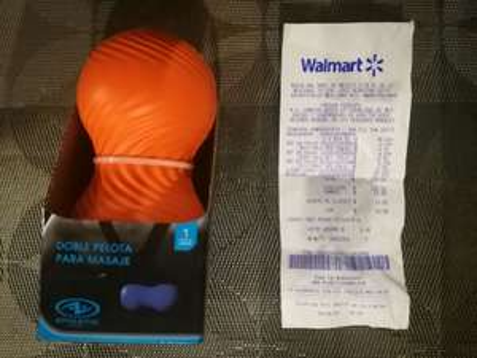 Walmart Pirules: Doble pelota para masaje Athletic en última liquidación $24.01 y algo más.