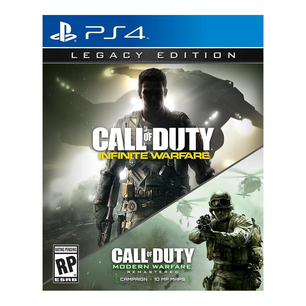 Walmart en línea: COD Infinite Warfare/Modern Warfare Remastered