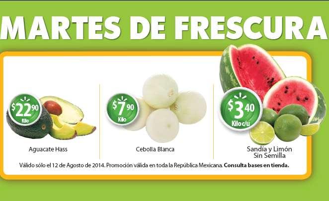 Martes de frescura en Walmart agosto 12: sandía o limón $3.40 el kilo y más