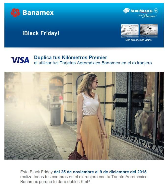 Banamex doble KMP con Tarjeta Aeroméxico